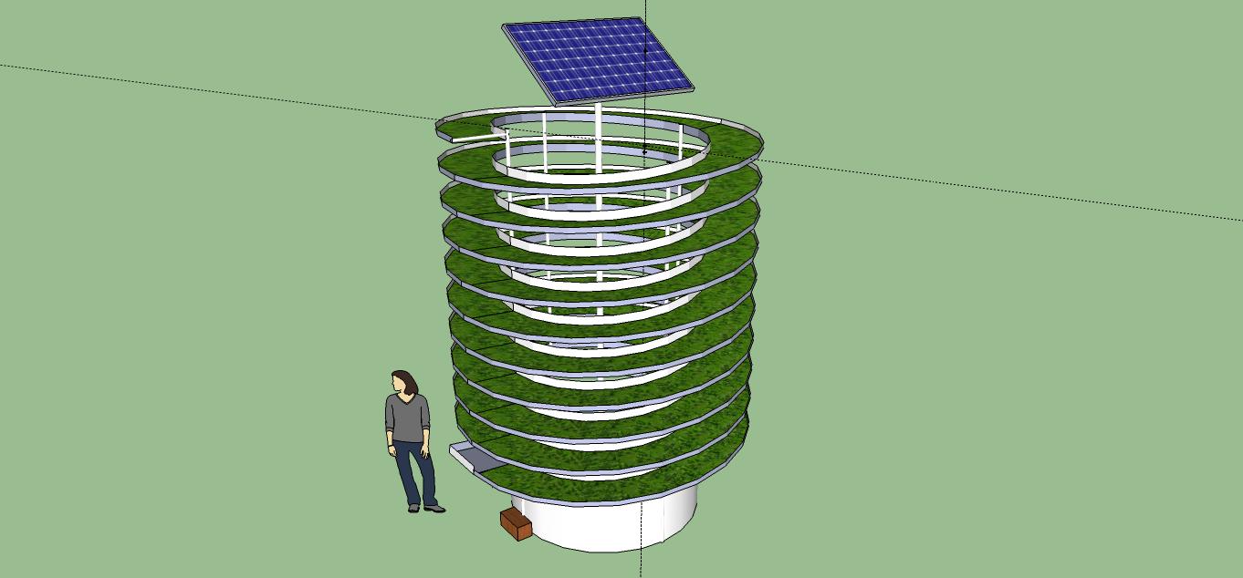 Vertical Aquaponics Design : Hydroponic Technique Plans